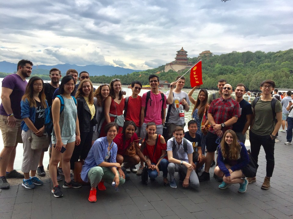 Group excursion to the Summer Palace