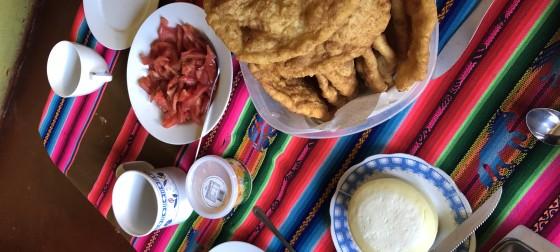 Local cuisine in Chile