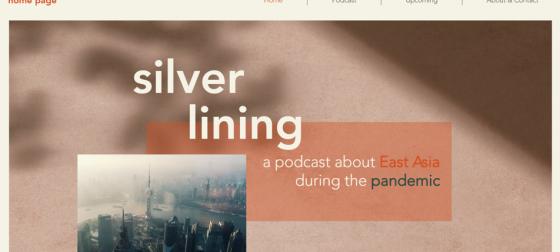 Banner of website