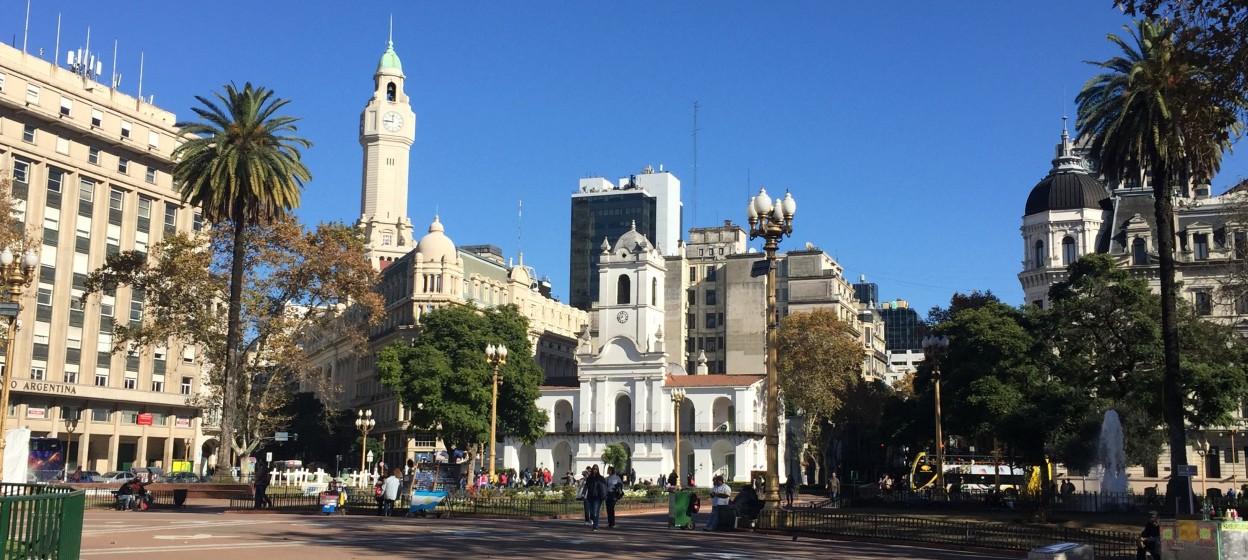 Street in Argentina
