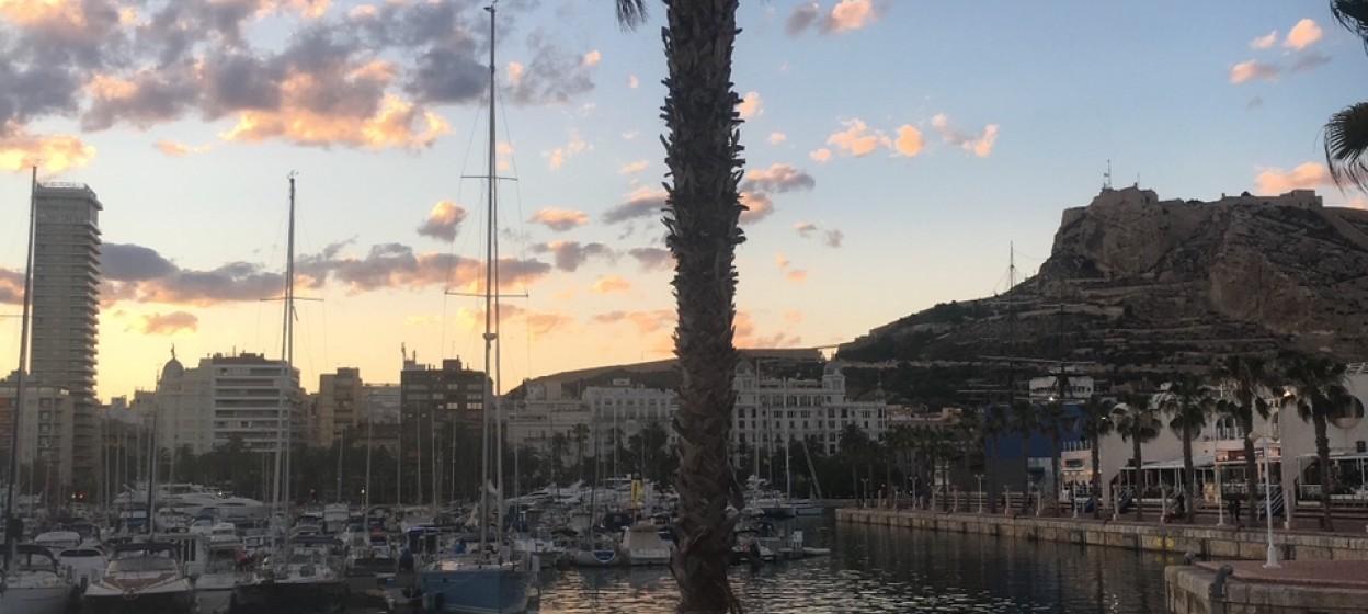 Dock in Alicante