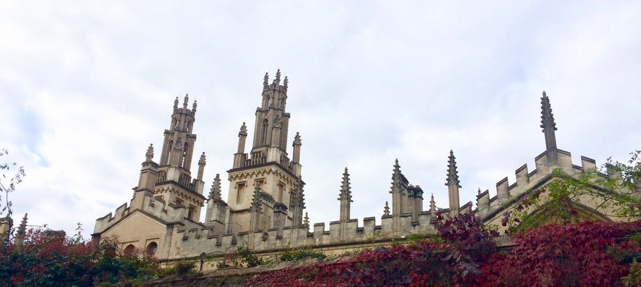 Spires at Oxford University