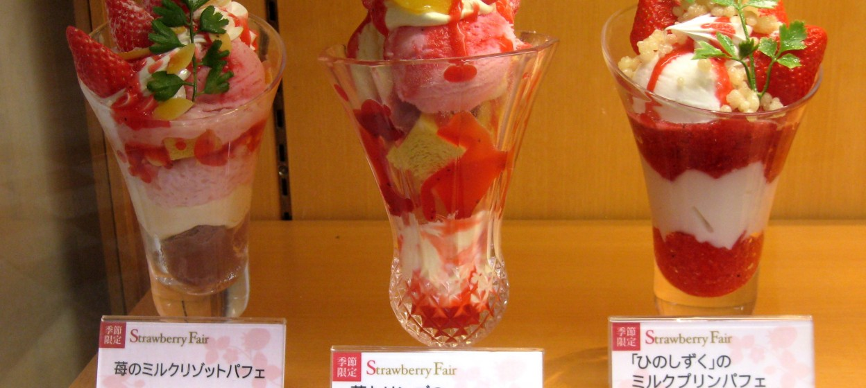 Parfaits in Japan