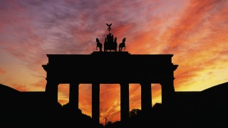 Brandenberg Gate Berlin Sunset