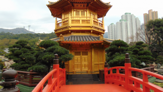 Temple in Hong Kong