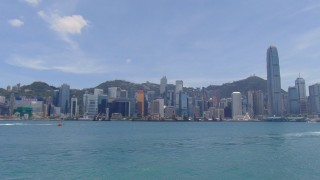 Victoria Harbor in Hong Kong