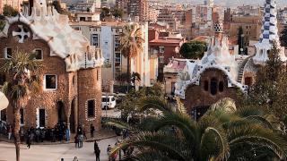 Gaudi Buildings in Barcelona